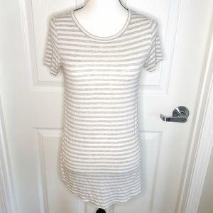 Aerie basic Striped Short Sleeve T-Shirt